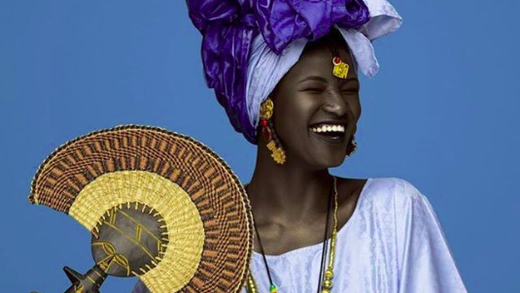 Kisah Melanin Goddess Khoudia Diop yang Dibully karena Berkulit Hitam
