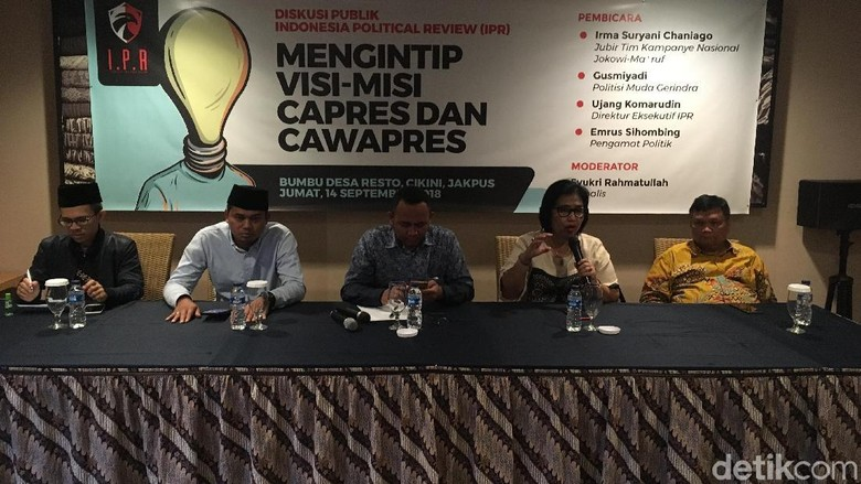 Jubir Jokowi-Ma'ruf: Nawacita Dibuat untuk 2 Periode