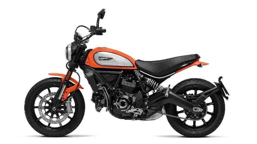 Tampang Baru Ducati Scrambler Icon