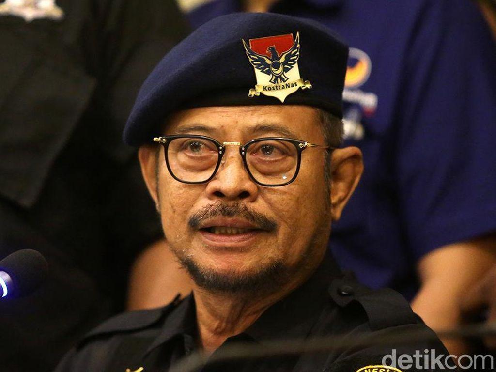 Syahrul Yasin Limpo Pimpin Deklarasi Rekan Jokowi di Sulsel