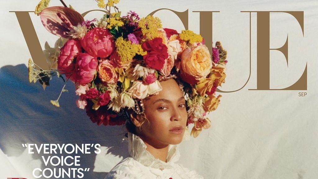 Terinspirasi Beyonce dan Rihanna, Muncul Tren Rambut Vas Bunga