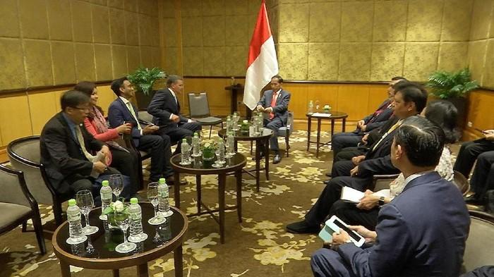 Pertemuan Presiden Jokowi dan Cisco. Foto: Cisco