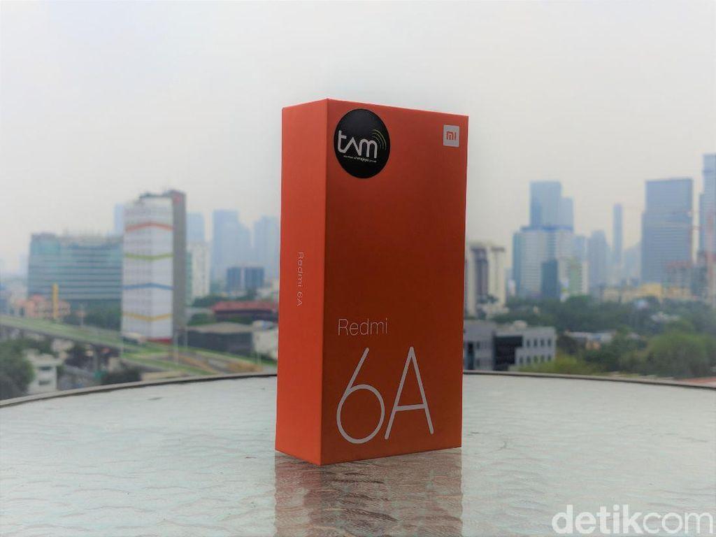 Unboxing Redmi 6A, Ponsel Anyar Xiaomi Harga Rp 1,2 Jutaan