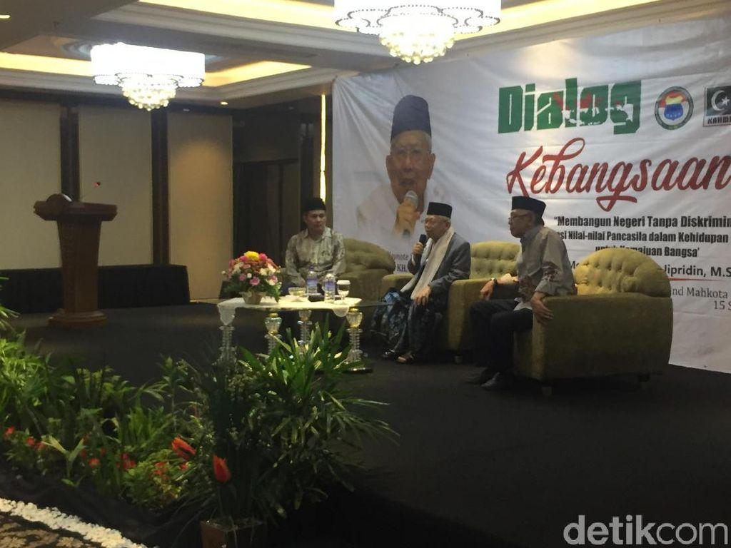 Dialog Kebangsaan di Kalbar, Maruf Amin: Pancasila Tak Bisa Diganti