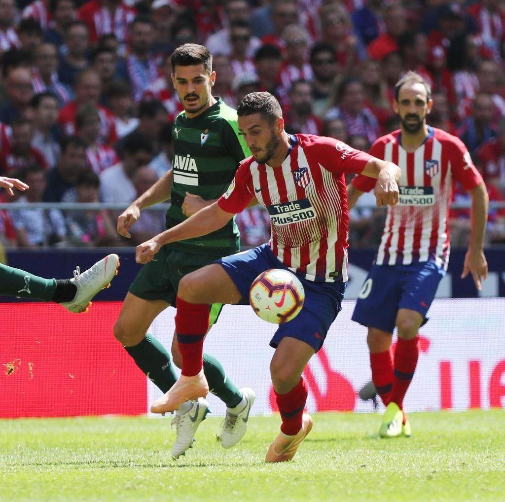 Hasil Liga Spanyol: Atletico Madrid Vs Eibar 1-1