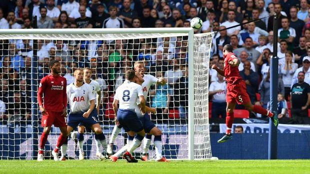 Hasil Liga Inggris: Liverpool Kalahkan Spurs 2-1