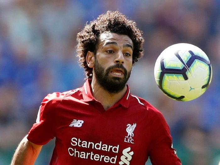 Kata Mohamed Salah Liverpool terbiasanya menyingkirkan tim besar. Karenanya mereka tak gentar saat harus menjamu PSG (Carl Recine/Reuters)