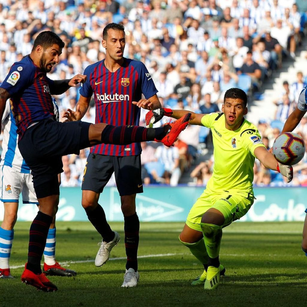 Hasil Liga Spanyol: Balikkan Keadaan, Barcelona Tekuk Real Sociedad 2-1