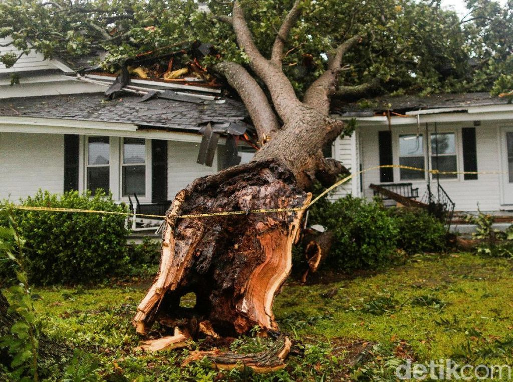 Kerusakan Akibat Badai Florence di AS