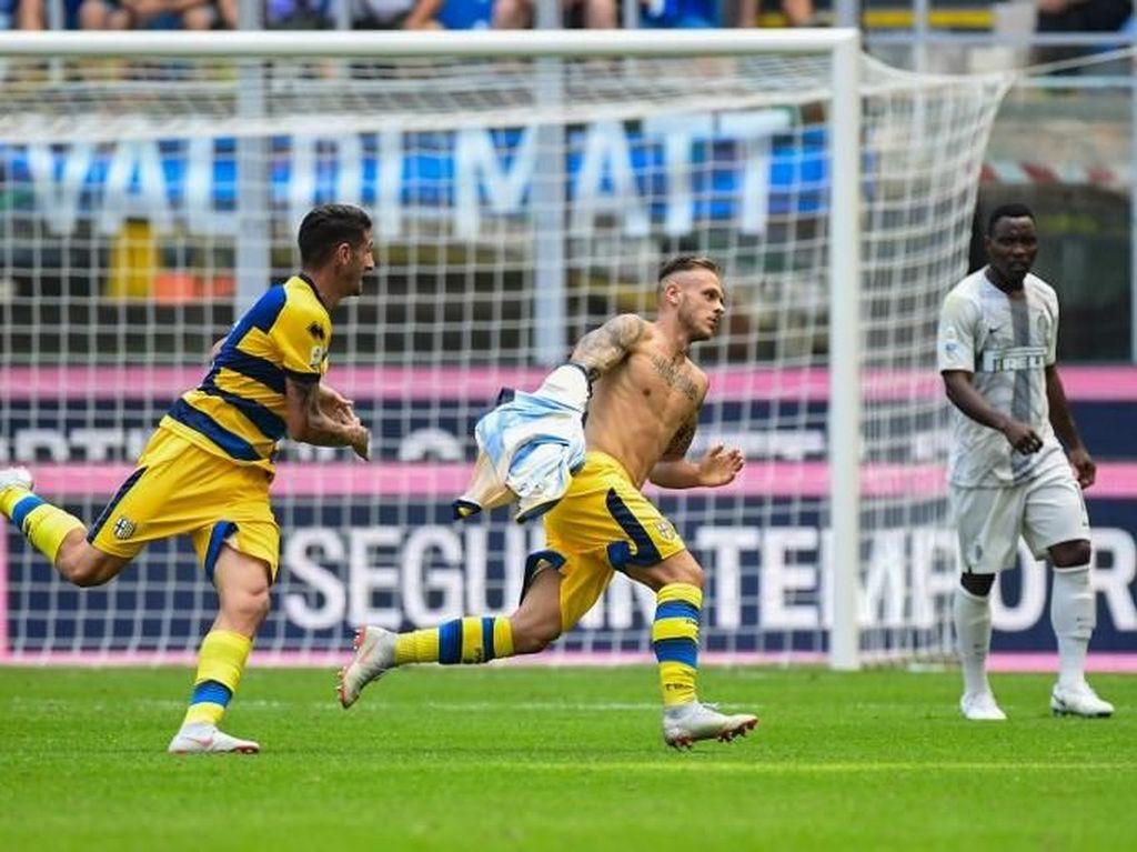 Hasil Liga Italia: Inter Dipermalukan Parma di Giuseppe Meazza