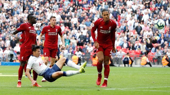 Tottenham Hotspur dikalahkan Liverpool 1-2 di Wembley. (Foto: Paul Childs/Action Images via Reuters)
