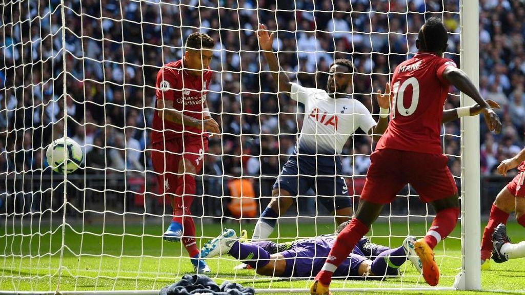 Kalahkan Spurs, Liverpool Kokoh Puncaki Klasemen