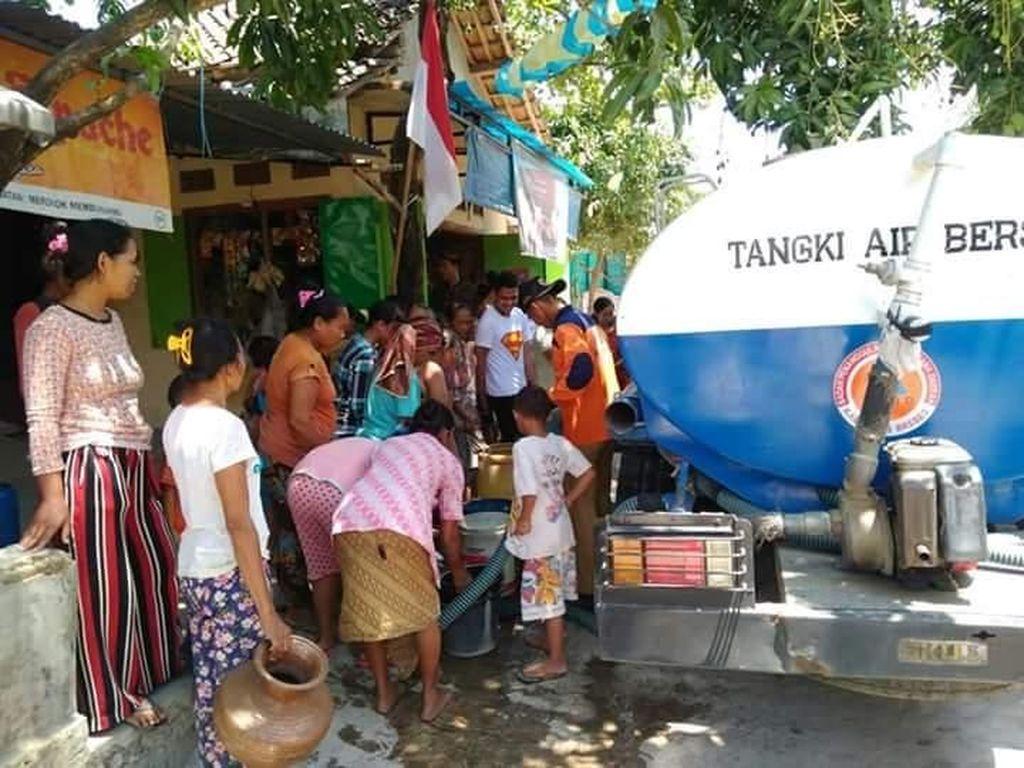 Warga Desa Senaru Rasakan Krisis Air Bersih Pascagempa Lombok