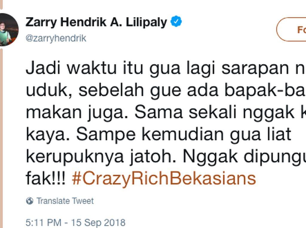 Crazy Rich Bekasians! Obat Stres Terbaru di Medsos