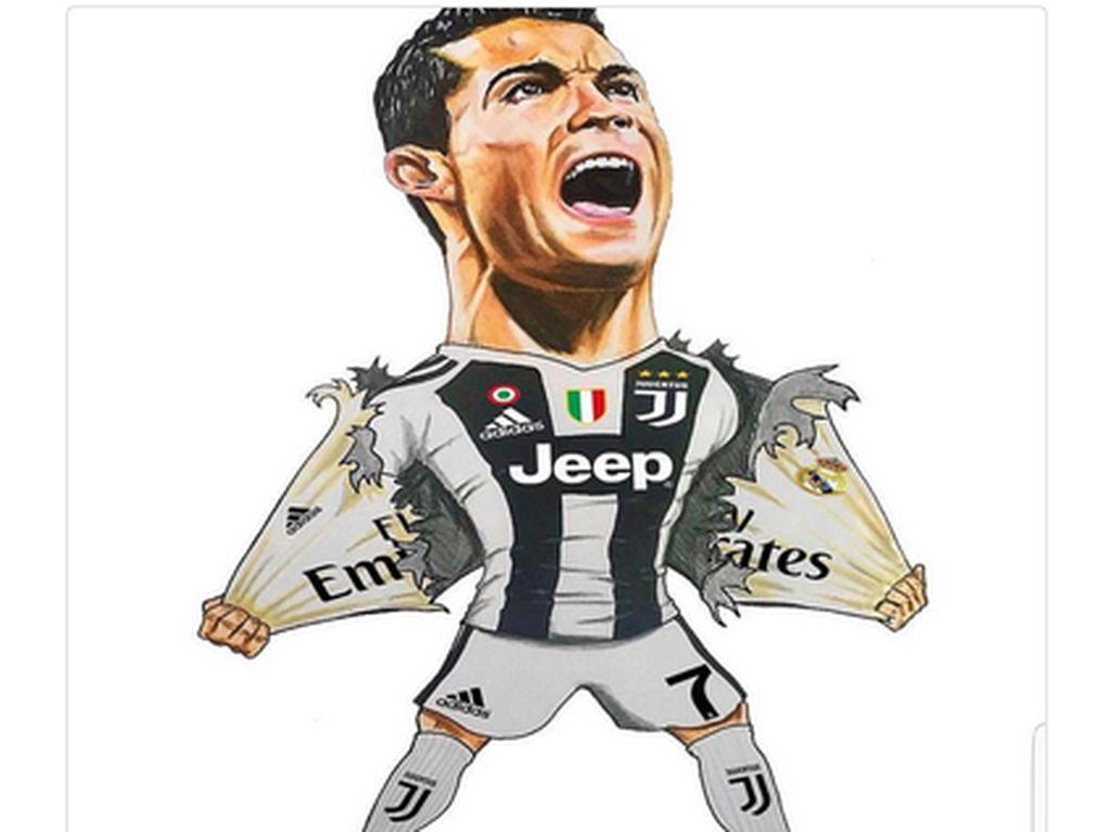 Masuk, Pak Ronaldo! CR7 Buka Keran Gol di Juve, Medsos Heboh
