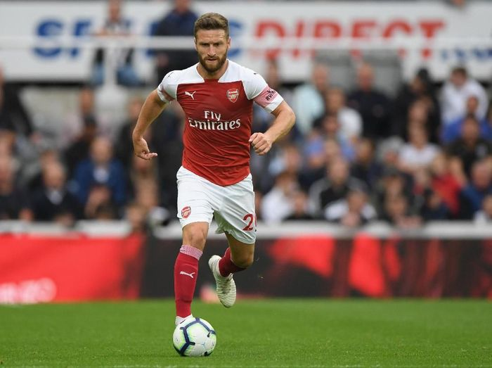 Bek Arsenal, Shkodran Mustafi. (Foto: Stu Forster/Getty Images)