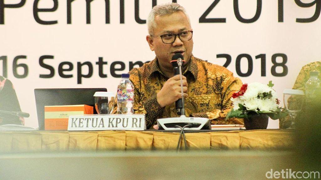 Suasana Rapat Perbaikan DPT Pemilu 2019