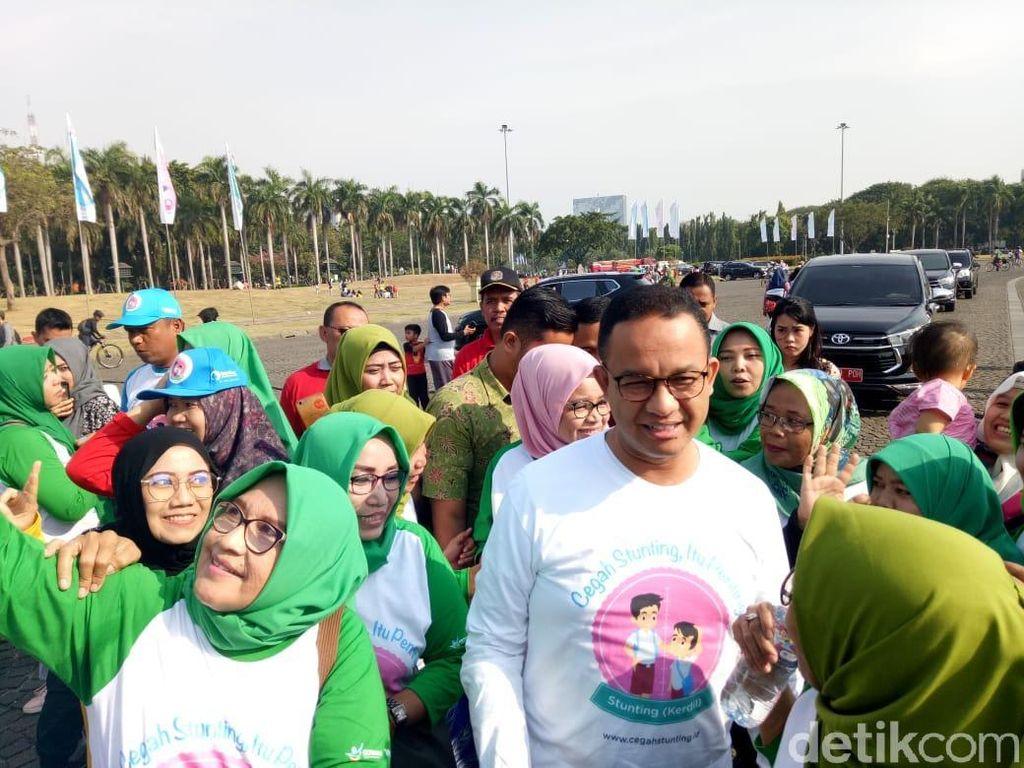 Anies Ingin Pencegahan Stunting di Jakarta Jadi Contoh