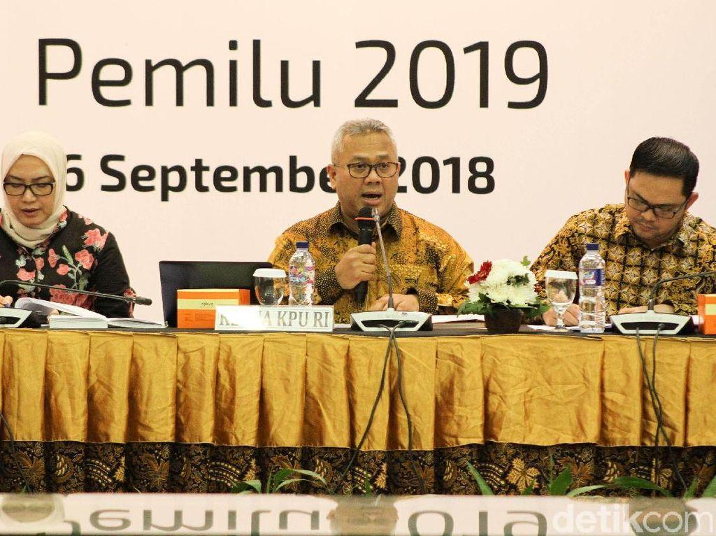 KPU: 23 September Hari Pertama Kampanye Pilpres 2019