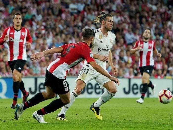 Real Madrid bermain imbang 1-1 di kandang Athletic Bilbao. (Foto: Vincent West/Reuters)