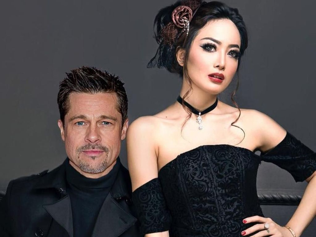 Kocak! Cinta Ratu Ubah Foto Roby Geisha Jadi Brad Pitt