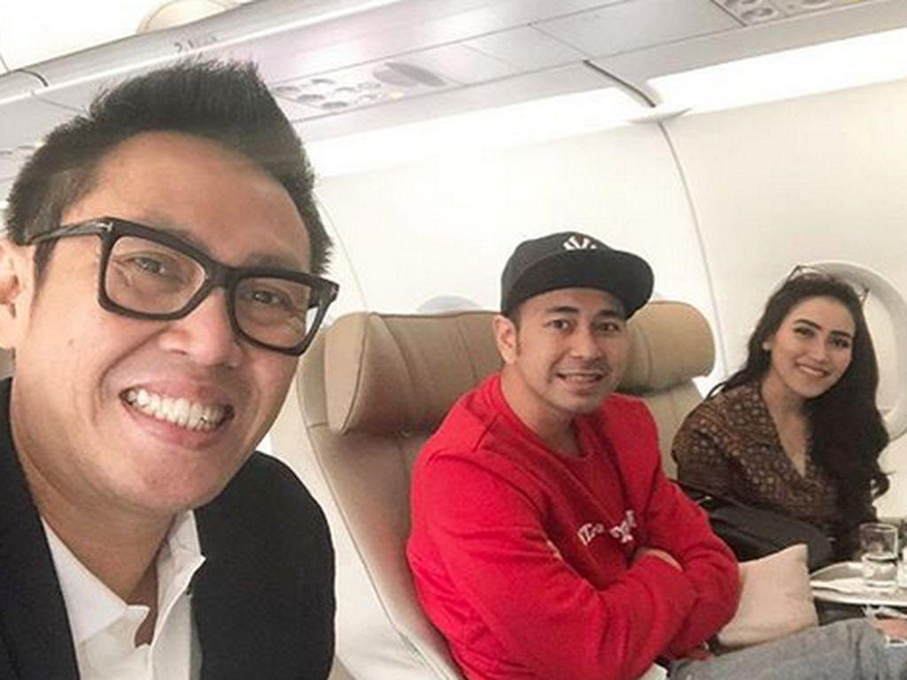 Duduk Sebelahan di Pesawat, Raffi Ahmad-Ayu Ting Ting Dicerca