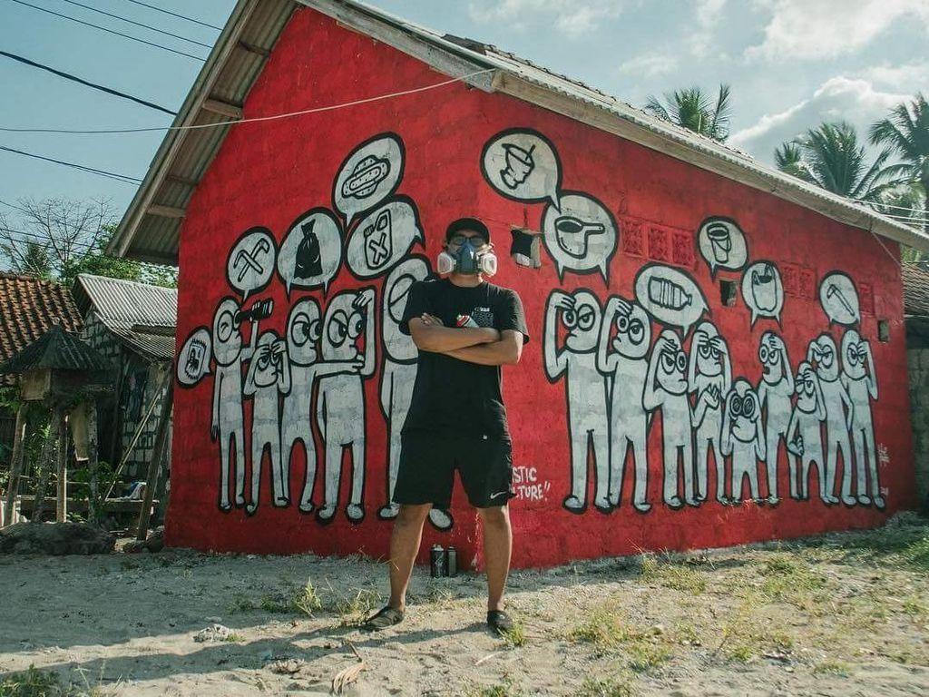 Puluhan Street Artist Mancanegara Gabung di Tropica Festival Bali