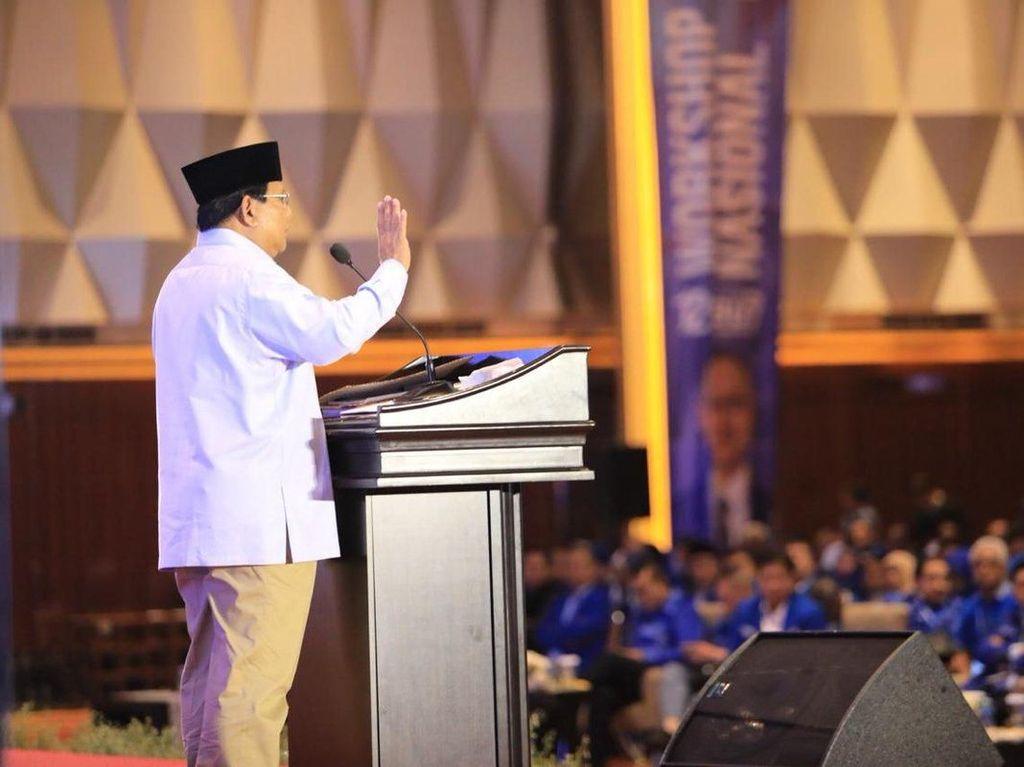 Prabowo Kaget Lihat Lulung di PAN: Katanya Mau Masuk Gerindra?