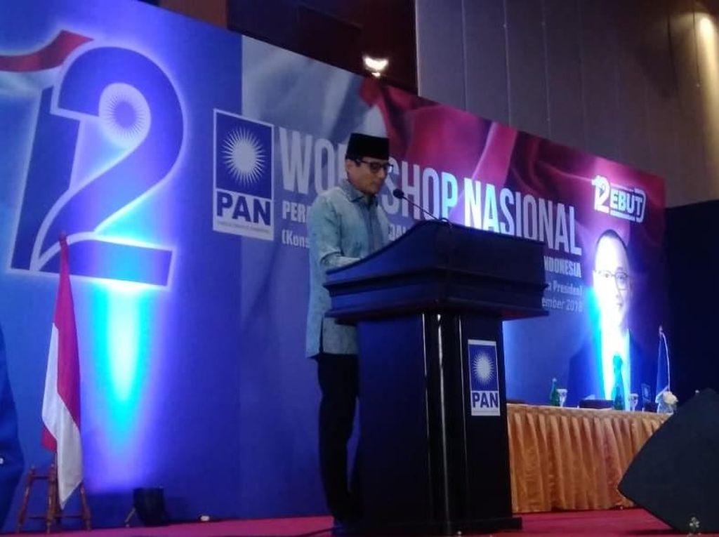 PAN Siapkan KTA buat Sandiaga, Gerindra DKI: Itu Komitmen Perjuangan