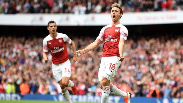 Pemain Arsenal, Nacho Monreal. (Foto: Michael Regan/Getty Images)