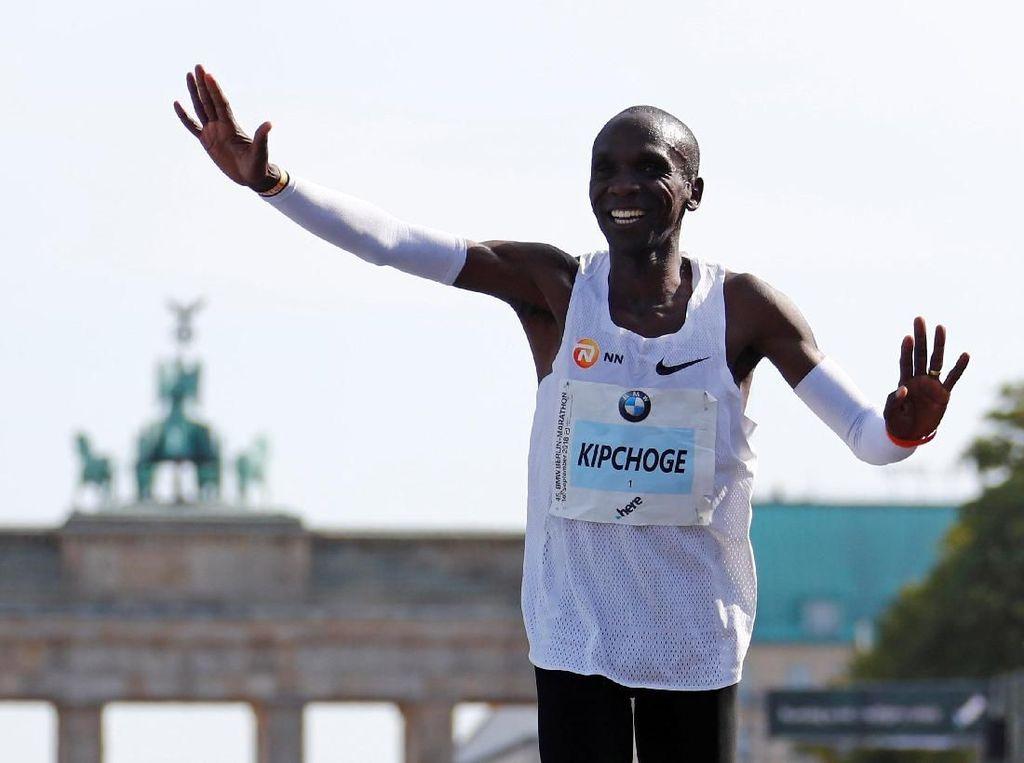 Rahasia Bugar Eliud Kipchoge si Pencetak Rekor Dunia Lari Maraton