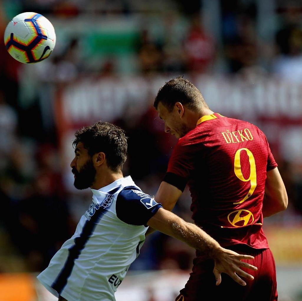 Hasil Liga Italia: Buang Keunggulan Dua Gol, Roma Diimbangi Chievo