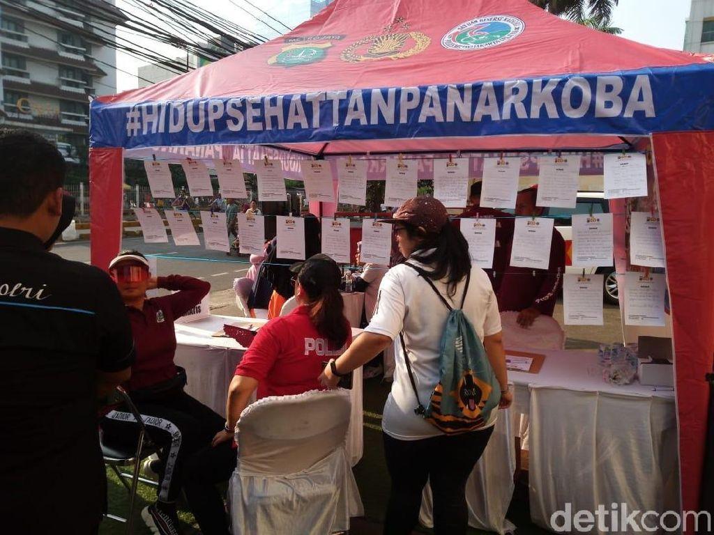 Polres Jaksel Gelar Sosialisasi Antinarkoba di CFD Mampang