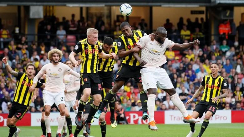 Hasil Liga Inggris: MU Taklukkan Watford 2-1
