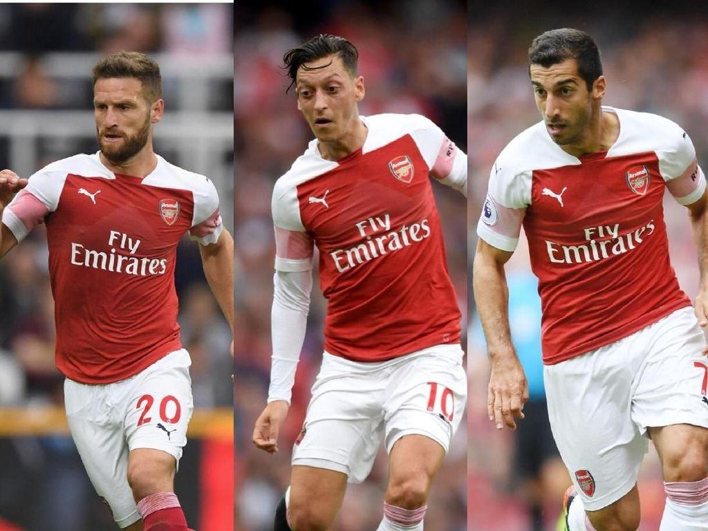 Inilah Deretan 10 Pencetak Gol Arsenal Musim Ini