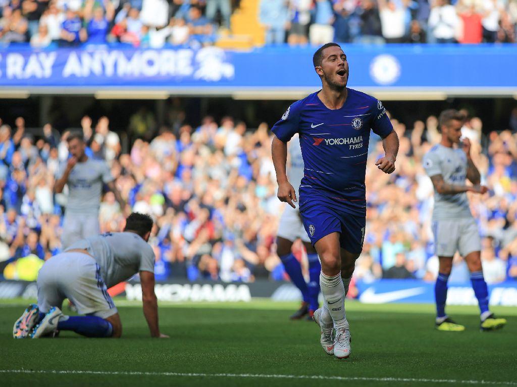 Hazard Diyakini Bakal Makin Mengilap di Bawah Arahan Sarri
