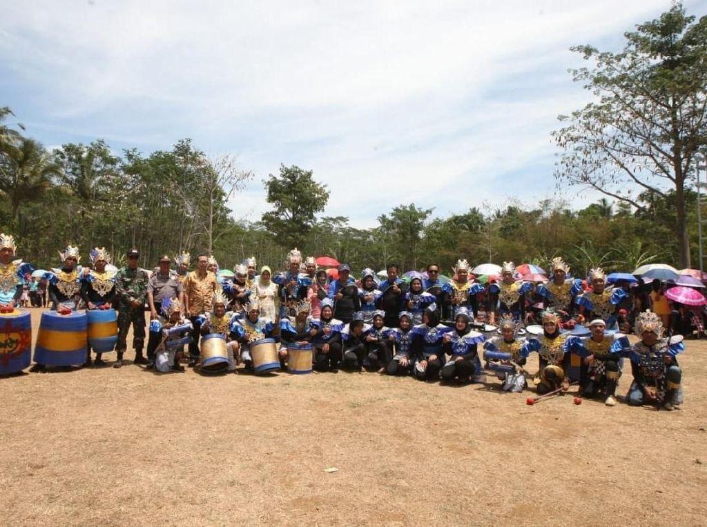 Lewat Drumblek dan Rodat, Empat Pilar Digaungkan ke Warga Semarang