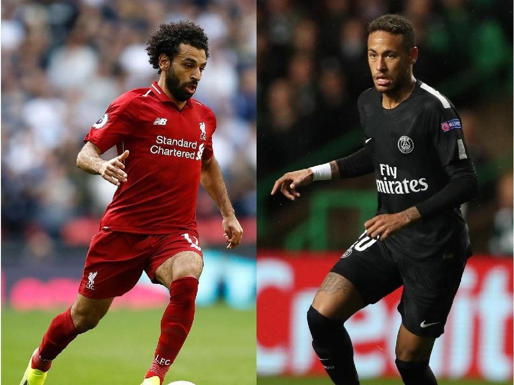 Tentang Salah vs Neymar