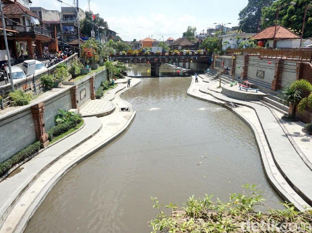 Sungai Cantik Bak Cheonggyecheon di Bali Biasa Dipakai Arisan & Reuni