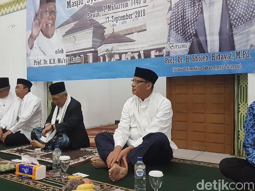 Dukung Jokowi? Gubernur Banten: Sssttt, Lu Jangan Nanya Gua