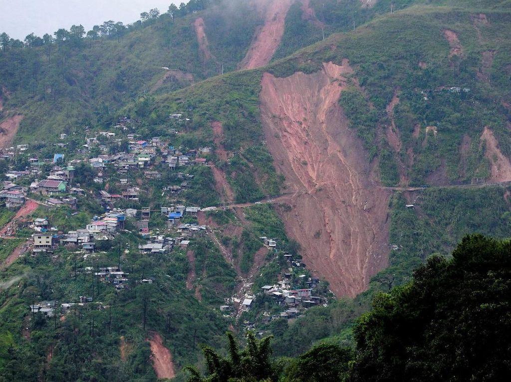 Begini Dampak Kerusakan Topan Mangkhut di Filipina dan Hong Kong