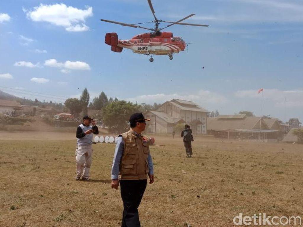 Heli BNPB Dikerahkan, Kebakaran di Gunung Sumbing Berkurang