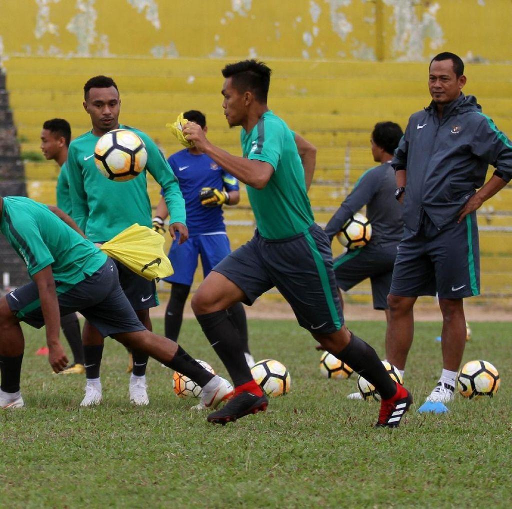 Timnas U-19 Geber Latihan di Jakarta untuk Hadapi Turnamen Segitiga