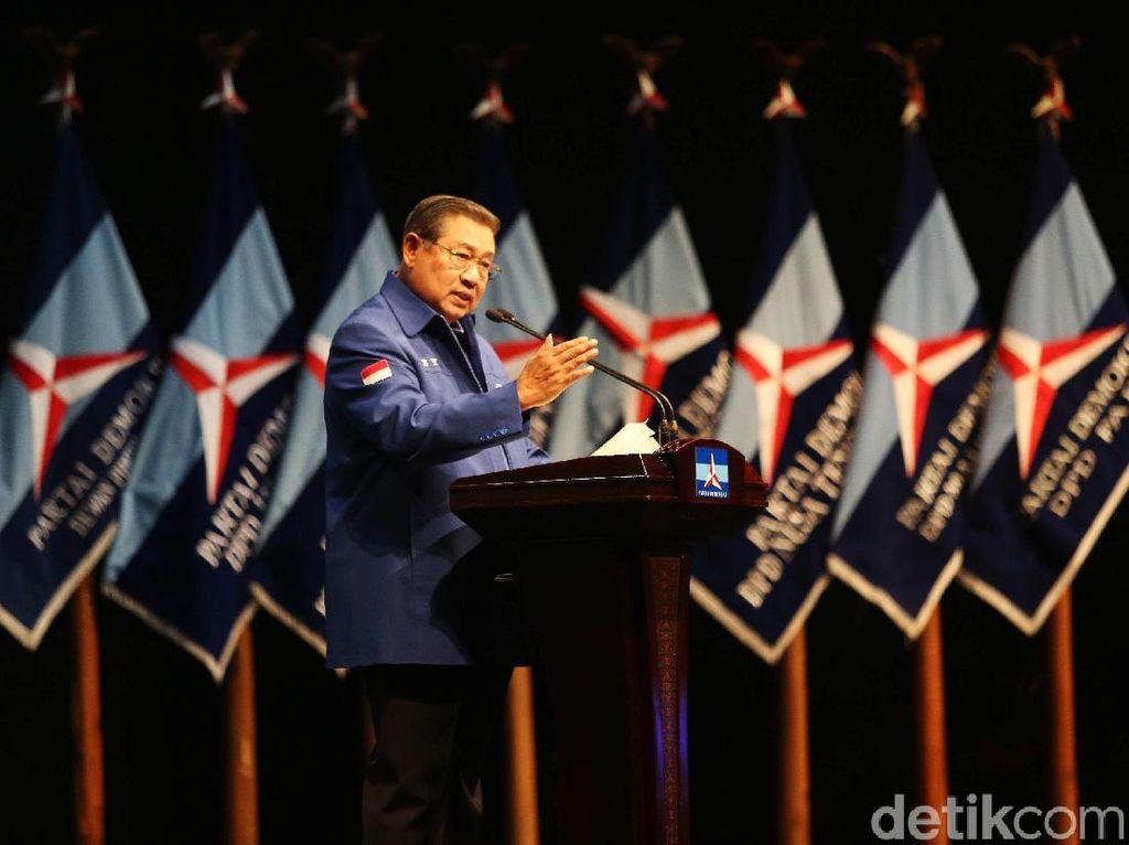 Foto: SBY Bicara Program Pro Rakyat di HUT ke-17 Partai Demokrat