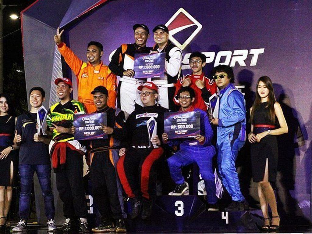 Drifter ABM Motorsport Juara di Seri Ketiga Battle Drift