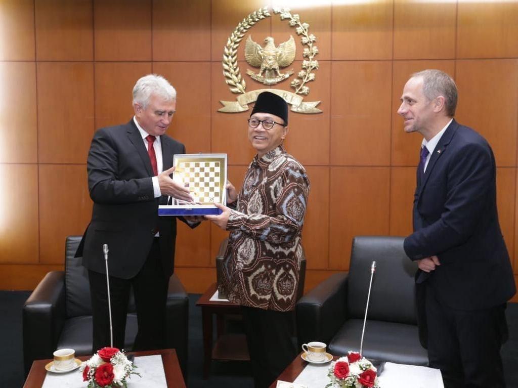 MPR Harap Kerja Sama Indonesia-Ceko Bisa Ditingkatkan