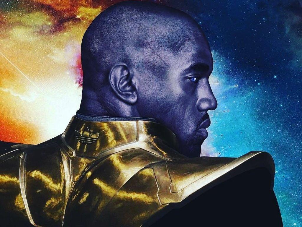 Sama-sama Angkuh, Ini Persamaan Thanos dan Kanye West