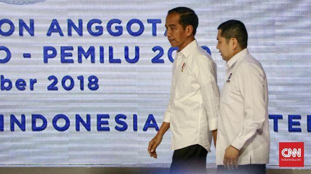Pada Pilpres 2019, Perindo mendukung pasangan Jokowi-Ma'ruf Amin.