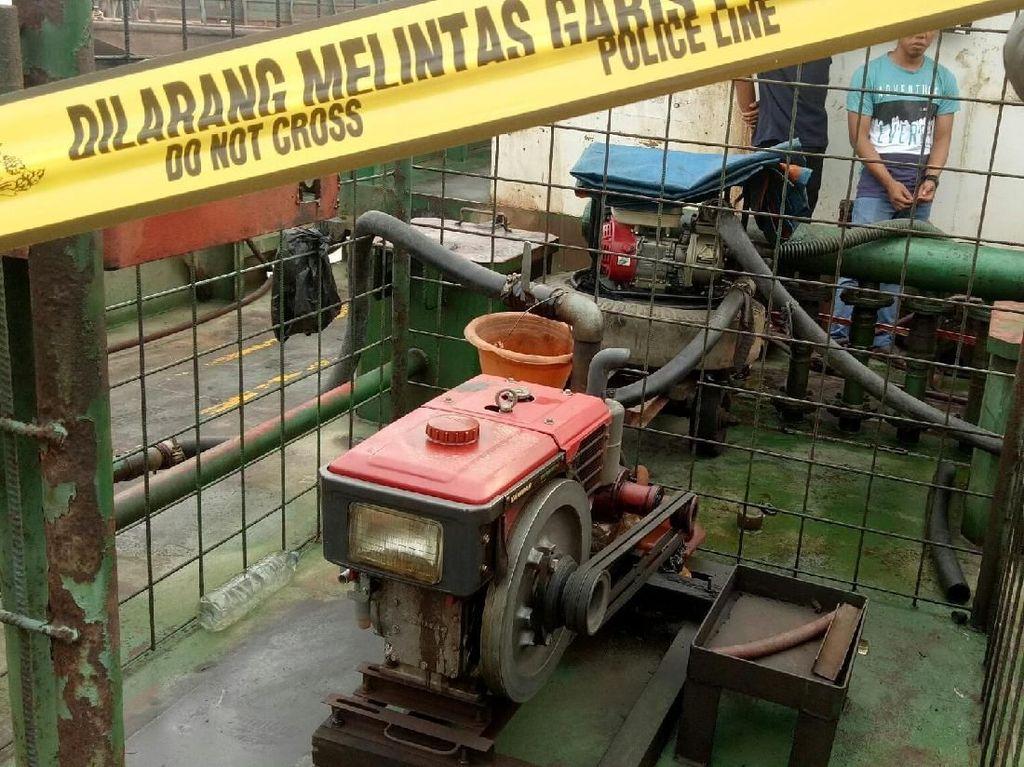 Polda Sumsel Gagalkan Penyelundupan Solar Ilegal di Palembang