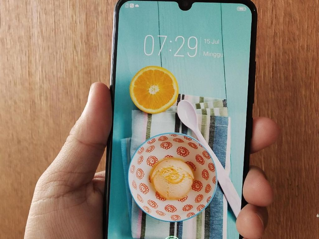 Menengok Keunggulan Screen Touch ID Vivo V11 Pro
